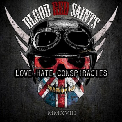 Blood Red Saints Love Hate Conspiracies